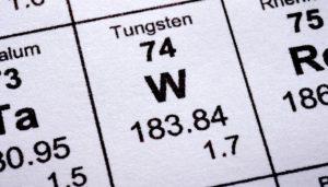 Configuración electrónica del Tungsteno